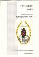 Allemagne - République Fédérale - Document FDC De 1976 ° - Oblit Bonn - Noël - Madonne Et Enfant - - Brieven En Documenten
