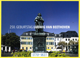 Carte Neuve émise à L'occasion Du 250e Anniversaire De Ludwig Van Beethoven - Allemagne Fédérale 2020 - Maximumkarten (MC)