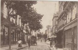 Le Perreux- Rue De La Station -La Poste    - (E.8120) - Guerra 1914-18