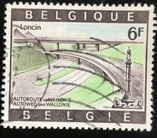België - Belgique - C2/35 - (°)used - 1969 - Michel 1571 - Autoweg Naar Wallonië - Gebraucht