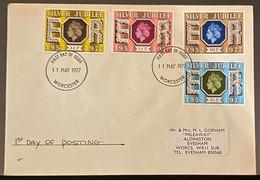 Groot Brittannië First Day Of Issue 11/05/1977 - 1971-1980 Dezimalausgaben