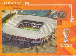 Qatar** World Cup Soccer/Football, Ras Abu Aboud Stadium, Post Card (Coupe Du Monde 2022 Stadion,Stade Estadio Stadio) - Qatar