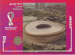 Qatar** World Cup Soccer/Football, Lusail Stadium, Post Card (Coupe Du Monde 2022 Stadion,Stade Estadio Stadio) - Qatar
