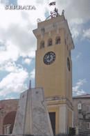 (R574) - SERRATA (Reggio Calabria) - Torre Dell'Orologio E Monumento Ai Caduti - Reggio Calabria