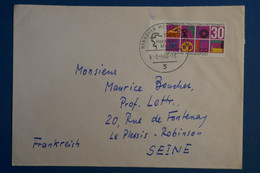 AD15 ALLEMAGNE  BELLE LETTRE   1968 HANOVRE   POUR LE PLESSIS FRANCE + ++ AFFRANCH .  IPLAISANT - Briefe U. Dokumente