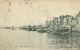 Le Havre 1908; Le Grand Quai - Voyagé. - Harbour