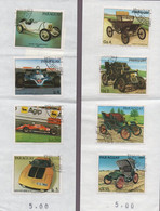 Timbres Paraguay - Automobiles (347) - Paraguay