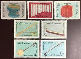 Vietnam 1985 Traditional Musical Instruments MNH - Vietnam