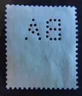 Perfin Firmenlochung Perfore - BA - Landesbank Der Rheinprovinz Aachen 1928 - Beethoven - POKO - Gebraucht