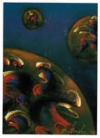 "Invitation Galerie ""La Hune Brenner"" Vernissage Exposition Bernard Dryfus - Peintures - Pastels - 12/10/2004, Cosmos - Pastelli"