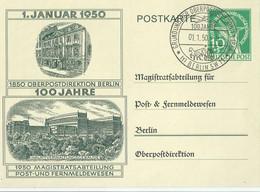 BERLIN (s) 54 Impreso En Entero Postal. - Briefe U. Dokumente