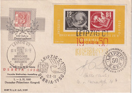 DDR 1950 LETTRE DE LEIPZIG   DEBRIA 1950 - Briefe U. Dokumente