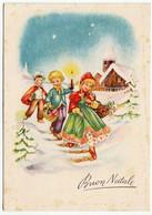 BUON NATALE - BAMBINI - 1959 - Vedi Retro - Santa Claus