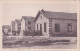 MILITARIA - CASERNE MILITAIRE DE MOURMELON - LE NOUVEAU CAMP DE DIVISION REFECTOIRE ET PAVILLON DE TROUPE - Kazerne