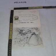 PP139 OPUSCOLO ILLUSTRATIVO FIRENZE 1983 GUIDA ALLA MOSTRA FILATELICA NUMISMATICA ICONOGRAFICA TIMBRO ANNULLO MANIFESTAZ - 1981-90: Storia Postale