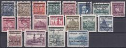 Böhmen Und Mähren -  Mi.Nr. 1 - 19 - Gestempelt Used Ungeprüft - Gebraucht