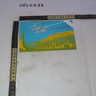 PP140 GIOIA DEL COLLE 1987 TIMBRO ANNULLO MISSIONE VELIVOLI TORNADO IN USA AERONAUTICA MILITARE ITALIANA VARI TIMBRI - 1981-90: Storia Postale