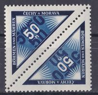 Böhmen Und Mähren -  Mi.Nr. 52 Kehrdruck - Postfrisch MNH - Gebraucht