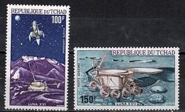 Tchad Space 1972 Lunakhod And Luna 17 - Tsjaad (1960-...)