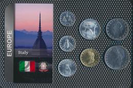 Italien Stgl./unzirkuliert Kursmünzen Stgl./unzirkuliert Ab 1969 1 Lire Bis 100 Lire (9664086 - Altri