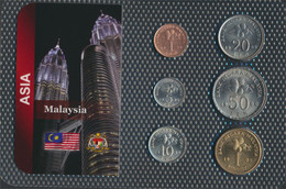 Malaysia Stgl./unzirkuliert Kursmünzen Stgl./unzirkuliert Ab 19891 Sen Bis 1 Ringgit (9663998 - Malaysia