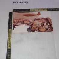 PP166 FROSINONE 1984 TIMBRO ANNULLO 40'' ANNIVERSARIO DISTRUZIONE ABBAZIA MONTECASSINO TIMBRO FIAT CASSINO UFF. POSTA - 1981-90: Storia Postale