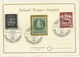BERLIN (s) 96/7 En Tarjeta. - Briefe U. Dokumente
