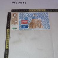 PP168 RICCIONE 1984 ESPOSIZIONE INTERNAZIONALE DI FILATELIA TIMBRO POSTE FRANCESI - 1981-90: Storia Postale