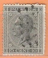 COB  17A   Used - 1865-1866 Profil Gauche