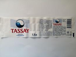 2020..KAZAKHSTAN..LABEL. WATER TASSAY ..1.5L - Other