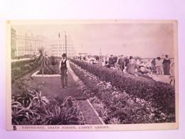 2021 - 3538  EASTBOURNE  :  GRAND PARADE  -  CARPET GARDEN  1907   XXX - Eastbourne