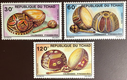 Chad Tchad 1976 Pyrograved Gourds MNH - Tsjaad (1960-...)