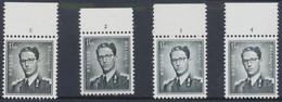 Lunettes (Type Marchand) - Lot De 4 X N°924** (MNH) + BDF Et N° De Planche (1 à 4) - ....-1960
