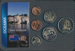 Neuseeland Stgl./unzirkuliert Kursmünzen Stgl./unzirkuliert Ab 1967 1 Cent Bis 50 Cents (9664134 - Nuova Zelanda