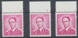 Lunettes (Type Marchand) - Lot De 4 X N°1069** (MNH) + BDF Et N° De Planche (1 à 3) - ....-1960