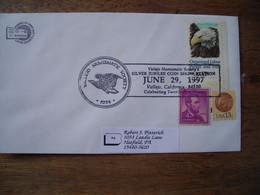 Bureau Temporaire 1997 Vallejo Numismatic Soc. Silver Jubilee Coin Show - Postal History