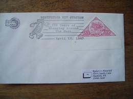 Bureau Temporaire 1997 150 Years Samping Westphilia XIV - Postal History