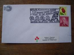 Bureau Temporaire  1994 Walk America It Makes Good Cents March Of Dimes Mountaindale NY - Postal History