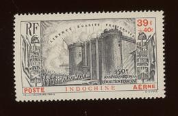 Indochine 1939, 150° De La Révolution Française, PA 16**(1 Croc), Cote 42,90 € - Aéreo