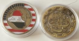 Medalla Operación Libertad Iraqí. Bagdad. US Armay. Estados Unidos De América - USA