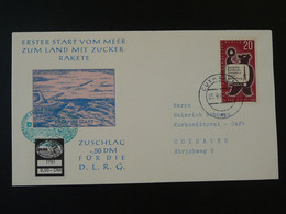 Lettre Cover Rakete Rocket Mail Raketenflug 1961 Cuxhaven Ref 101681 - Briefe U. Dokumente