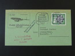 Lettre Cover Rakete Rocket Mail Raketenflug 1962 Duren Ref 101682 - Briefe U. Dokumente
