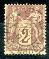 France N°85 - TAD JOURNAUX P.P. 2 NANTES - (F966) - 1876-1898 Sage (Tipo II)