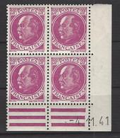 CD 505 FRANCE 1941 COIN DATE 505  : 4 / 11 / 41 EFFIGIES DU MARECHAL PETAIN - 1940-1949