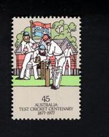 1370484806 1977 (XX) SCOTT  666 POSTFRIS  MINT NEVER HINGED EINWANDFREI - CRICKET MATCH - Mint Stamps