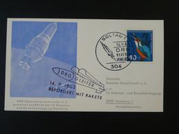 Carte DRG Deutsche Raketen Gesellschaft Espace Space Rakete Rocket Mail Soltau 1963 Ref 101693 - Briefe U. Dokumente