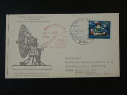 Carte DRG Deutsche Raketen Gesellschaft Espace Space Rakete Rocket Mail Sahlenburg 1963 Ref 101695 - Briefe U. Dokumente