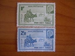 Mauritanie N° 123/124 Neuf SG - Unused Stamps