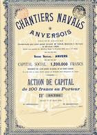 CHANTIERS NAVALS ANVERSOIS - Navigazione