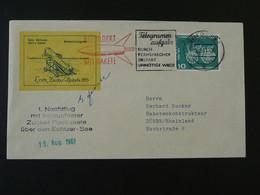 Lettre Signée Signed Cover Zucker Rakete Rocket Mail Raketenflug Duren 1961 Ref 101708 - Briefe U. Dokumente